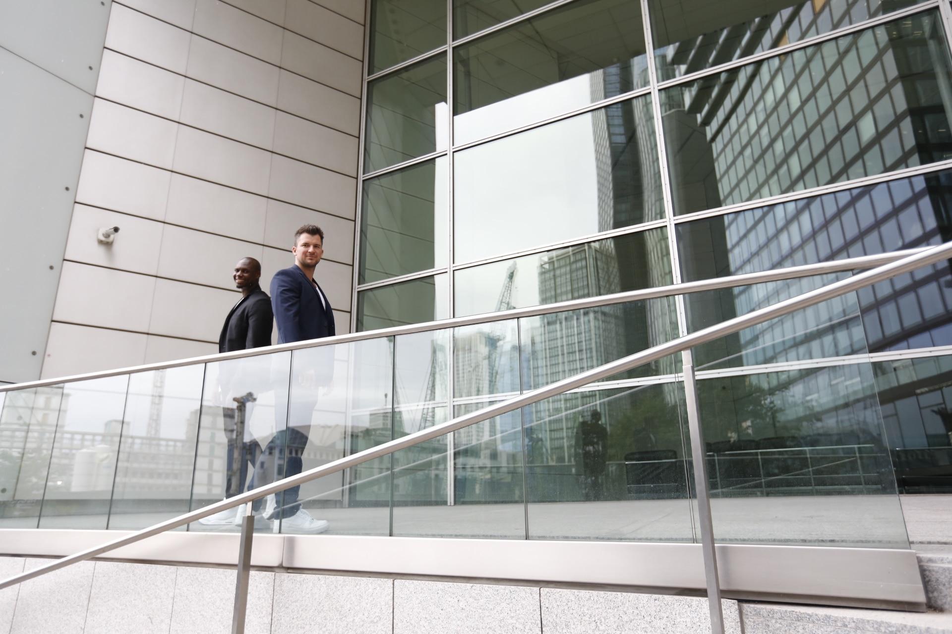 John Balumuena und Marcel Kühlem von JM Blickwinkel