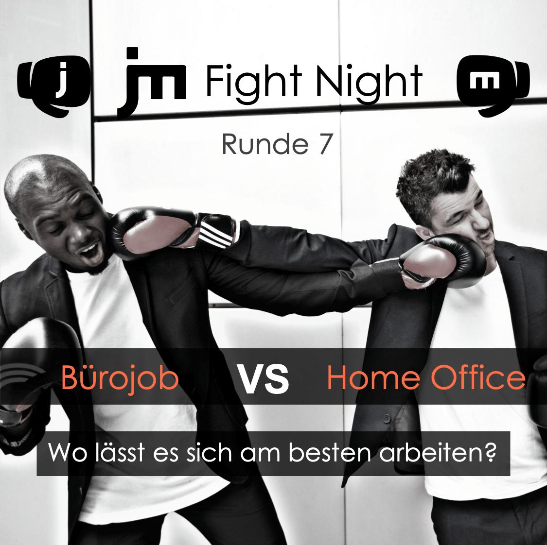 JM Fight Night Instagram Beitrag