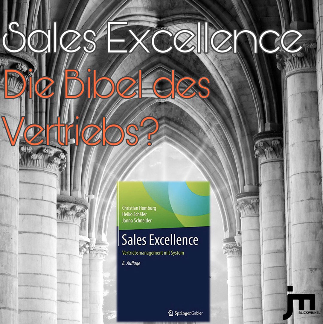 JM Sales Excellence Buch Cover Instagram